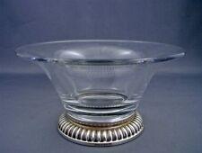 Vintage BIRKS Sterling Silver Crystal Candy Bon Bon Nut Center Dish Bowl