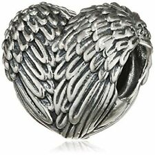 BEAUTIFULLY MADE  ANGEL WING ANGELIC WINGS  FEATHERS  CHARM BEAD
