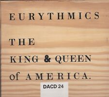 EURYTHMICS 1989 King & Queen Of America UK Wooden Box #'d 233 CD Single Sealed