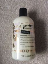PHILOSOPHY Purity Made Simple One-Step Facial Cleanser 12 OZ NEW  SEALED