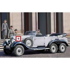 G4 1939 PRODUCTION GERMAN CAR WITH PASSENGERS 1/35