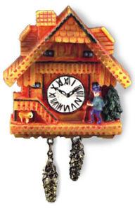 Dollhouse Miniature Reutter Honey Wall Cuckoo Clock 1.401/5