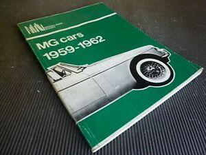 MG cars 1959 - 1962 Road & Track Tests  History  BROOKLANDS BOOK,MGA-Midget-MGB