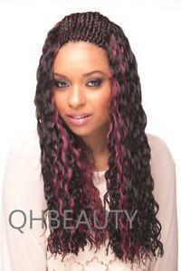 CHERISH BULK BRAIDING CROCHET CURLY HAIR EXTENSION BRAIDS - BABY WEFT BRAID 22''