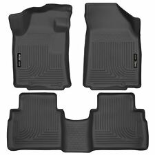 Husky Liners WeatherBeater Floor Mats- 3pc- 99621- For Nissan Maxima 16-17 Black