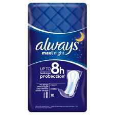 80 Stück always Maxi Binden Night Nacht 10er Pack x 8 Vorteilspack neu OVP