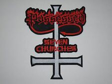 POSSESSED SEVEN CHURCHES EMBROIDERED BACK PATCH