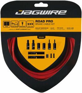 Jagwire Pro Brake Cable Kit Road SRAM/Shimano Kevlar© Reinforced Housing, Red