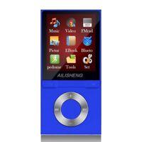 Portable 8GB HiFi Bluetooth MP3 Music Player Running Sports MP4 FM Radio E-Book