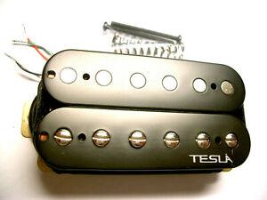 Tesla Pickup Plasma-3 Humbucker Bridge/Black