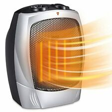 Joy Pebble Portable Ceramic Space Heater for Home and Office Indoor Use with Adj