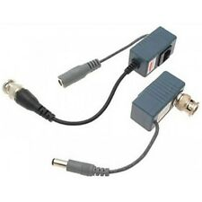 50 Pairs (100 Pcs) Cctv Video Power Balun BNC to Cat5/6 UTP Cable for Cctv Camer