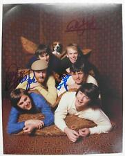 Brian Wilson THE BEACH BOYS Signed Autograph 8x10 Photo by All 4 Members SMiLE
