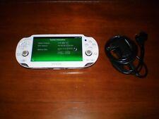 Sony PlayStation PS Vita Handheld White 8GB FFX Henkaku 3.60 Adrenaline PSP PS1