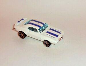 HOT WHEELS Loose '69 Firebird T/A (White Version)(FTE Hub Wheels)