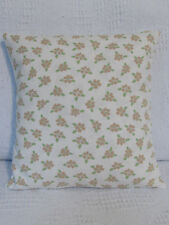 Cushion Cover, Laura Ashley, Tiny Flowers, Cotton, Biscuit, Apple, Ivory, Flora.