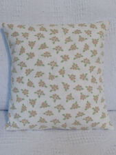 Cushion Cover, Laura Ashley, Tiny Flowers, Cotton, Beige, Green, Cream, Floral.