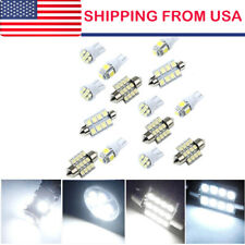14* White LED Light Interior Package Kit for T10 & 31mm Map Dome & License Plate