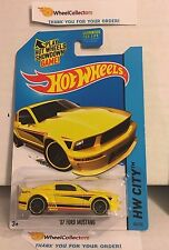 '07 Ford Mustang #94 * Yellow Kmart Only * 2015 Hot Wheels * Y75