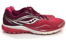 Saucony Ride 9 Women's Running Shoes Pink Red S10318-5 Size 10 M US SH3