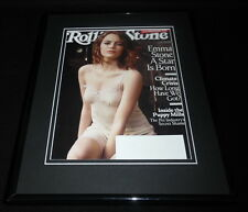 Emma Stone Framed 11x14 ORIGINAL 2016 Rolling Stone Magazine Cover La La Land