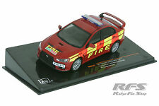 Mitsubishi Lancer Evo x – Fire s'en vont Humberside and west Mid - 1:43 IXO MOC 147