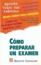 Como Preparar un Examen by Brigitte Chevalier (2001, Paperback)