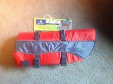 Top Paw Dog Life Jacket. Orange Reflective Size Extra Large. 85-100 Pds
