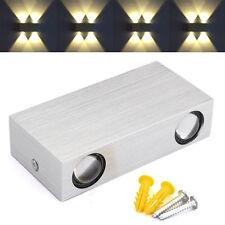 AGM 4W 4LED Wandlampe Wandleuchte Flurlampe Effektlampe Deckenleuchte Beleuchtun