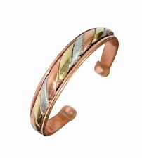 Mens Magnetic Copper Celtic Bio Torque Bangle-Bracelet Arthritis Pain Relief