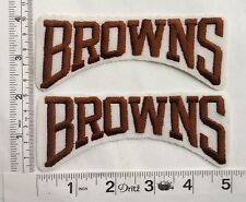 Authentic Cleveland Browns Patch-white background