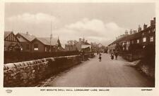 Boy Scouts Drill Hall Longhurst Lane Mellor Nr Marple Stockport RP pc  Grenville