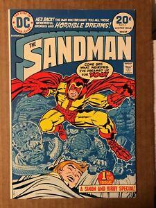 Sandman (1974) #1A 1st Bronze Age Sandman