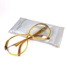 Vintage Christian Dior Eyeglasses Frames 2255 Germany 80's 90's Plastic Amber