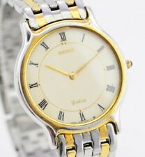 Vintage Seiko Dolce Analog Quartz Watch Needs Repair 9530-6040 JDM G916/90.1
