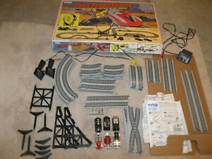 Circuit oh slot tyco mattel 37676 turn spiral complete history new//box