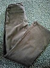 NYDJ #700ODT Lift Tummy Tuck Brown Jeans Size 12 P Actual 30 x 30