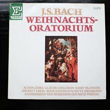 J.S. BACH - WEIHNACHTS-ORATORIUM - 3 LP'S