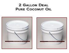 Coconut Oil PURE Natural & 100% PURE  nice 2 GALLON DEAL