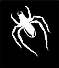 White spider decal, spider vinyl die-cut, spider sticker