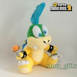 "New Super Mario Bros. Larry Koopa Plush Doll Soft Toy Stuffed Animal Teddy 6"""