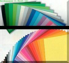 Günstig* 375  BOGEN = 15 Lagen ·  50x70 Seidenpapier/ Farben nach Wahl !!!!