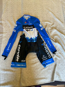 CASTELLI Cycling Long Sleeve Skinsuit BRAND NEW GARMIN ORIGINAL SIZE M Unisex