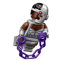 NEW - LEGO Cyborg Minifigure DC CMF 71026 - 2020 Early Release!