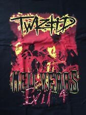 "TWIZTID ""NEW YEARS EVIL 4"" TOUR SHIRT ICP insane clown posse rap hip hop juggalo"