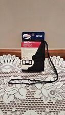 American Tourister Airport ID & Ticket Wallet Passport Holder- Black (NWT)