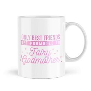 Godmother Mug Best Friend Mugs Christening Fairy Godparents Gift Novelty MBH416