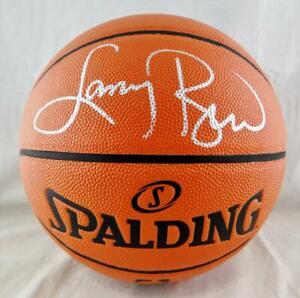 Larry Bird Autographed Official NBA Spalding Basketball - Beckett Auth *Silver