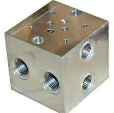 Ventilplatte Grundplatte Block 1 fach NG 06-1  CETOP 3