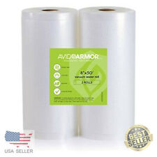 New listing 11x50 Vacuum Sealer Bags Roll. 2 Pack for Food Saver, Seal a Meal Vac Sealers to